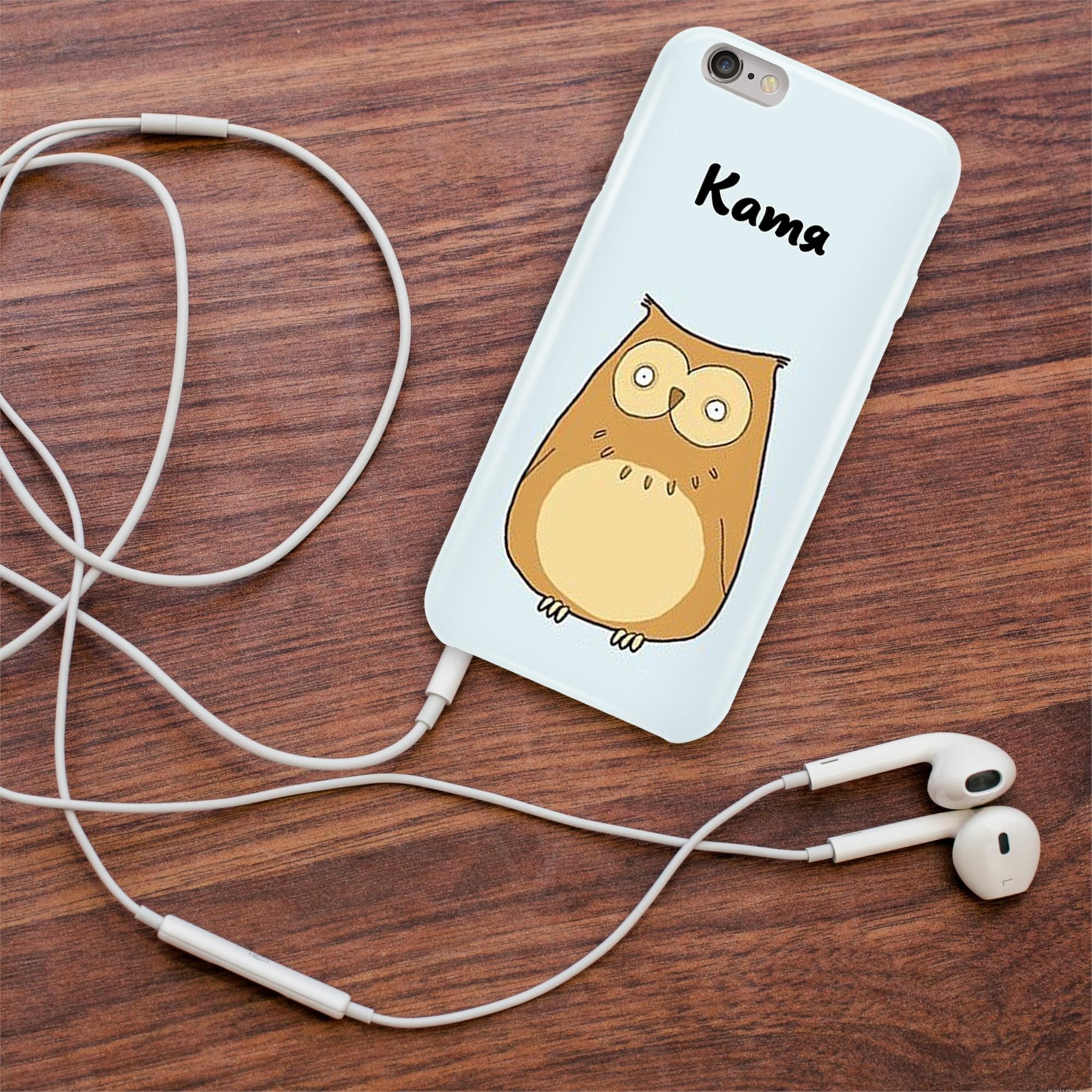 Именной чехол для iPhone Катя