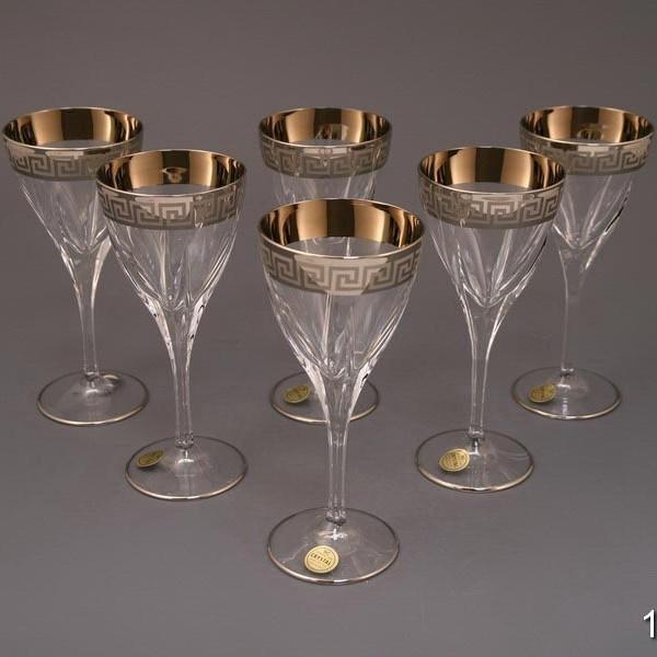 Набор бокалов для вина Фьюжн Платина