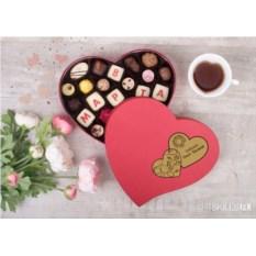 Набор шоколадных конфет ручной работы «С 8 марта»