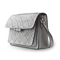 Серебристая женская сумочка «Фантазия»