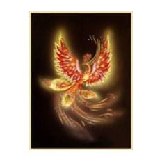 Картина с кристаллами Swarovski Жар- птица