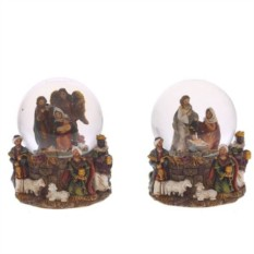 Фигурка в стеклянном шаре Рождество