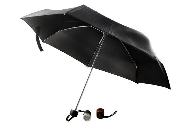 Зонт Gentleman, с 3-мя сменными ручками и фонариком