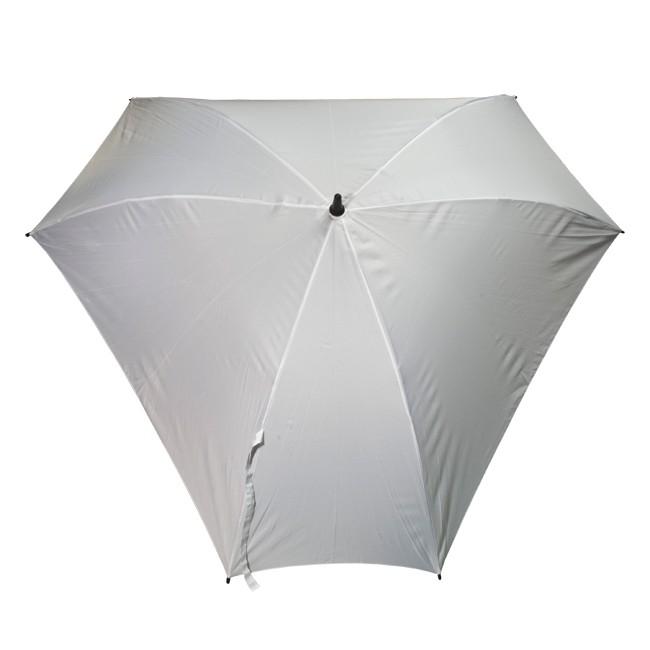 Механический зонт-трость Triangle, белый