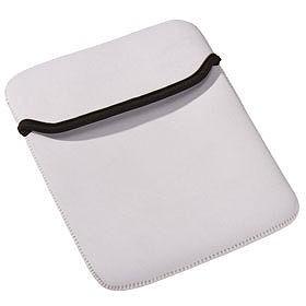 Чехол для iPad, белый с черным