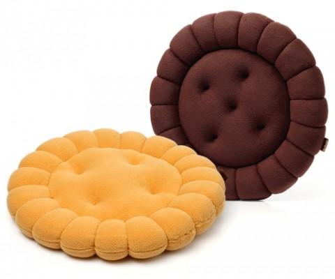 Подушка интерьерная «Печенька круглая»