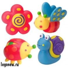 Игрушки для ванны Сад