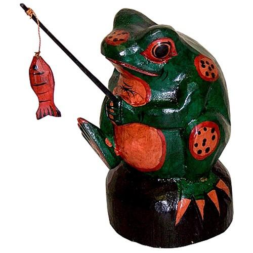 Лягушка «Рыбак удачи!»