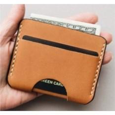 Оранжевый чехол для пластиковых карточек