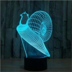 3D лампа Улитка