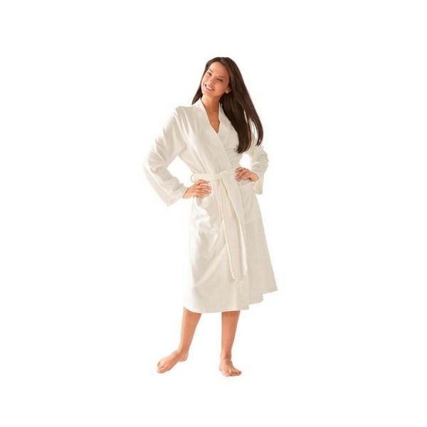Домашний женский халат Theresa (цвет бежевый)