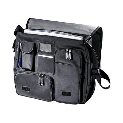 Сумка для ноутбука с отделениями и карманами