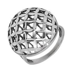 Женское серебряное кольцо Серебро России