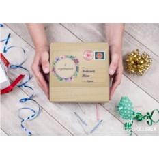 Именной набор конфет ручной работы «Любовное послание»