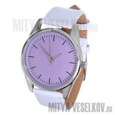 Часы Mitya Veselkov Классика в сиренево-розовом