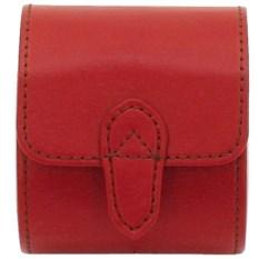 Красная шкатулка для хранения часов