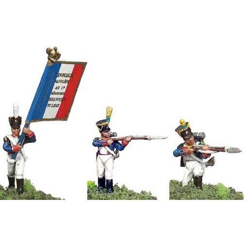 Франция : гренадеры (формы для литья) 25 мм