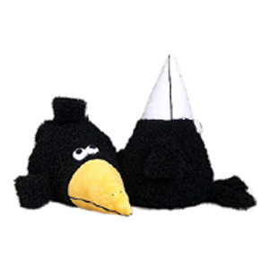 Прикольная подушка «Ворона Нюша»