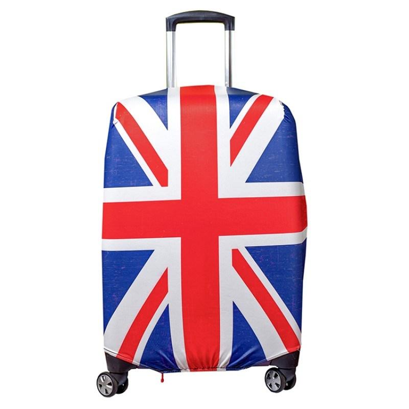 Чехол для чемодана CITY - UK с поисковой меткой