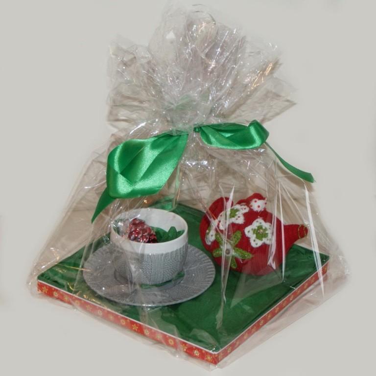 Новогодний подарок Чаепитие с чайничком