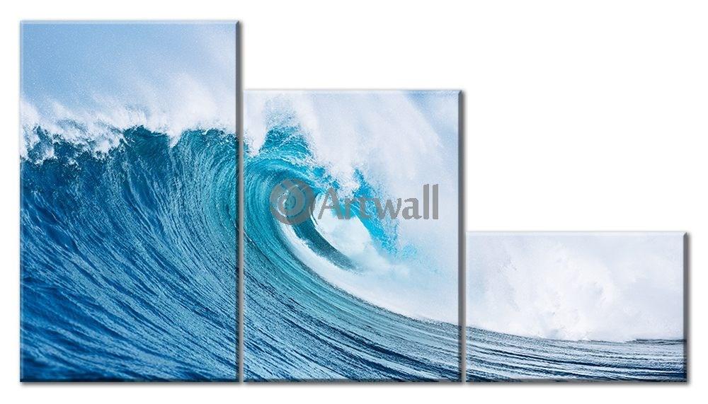 Модульная картина «Мечта серфера» 70×40 см