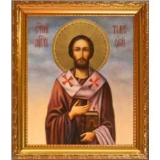 Икона на холсте Тимофей Ефесский Святой апостол
