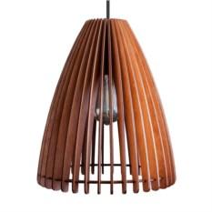 Деревянный подвесной светильник Лампа Лили
