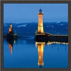 Постер Морские путешествия. Ночной маяк