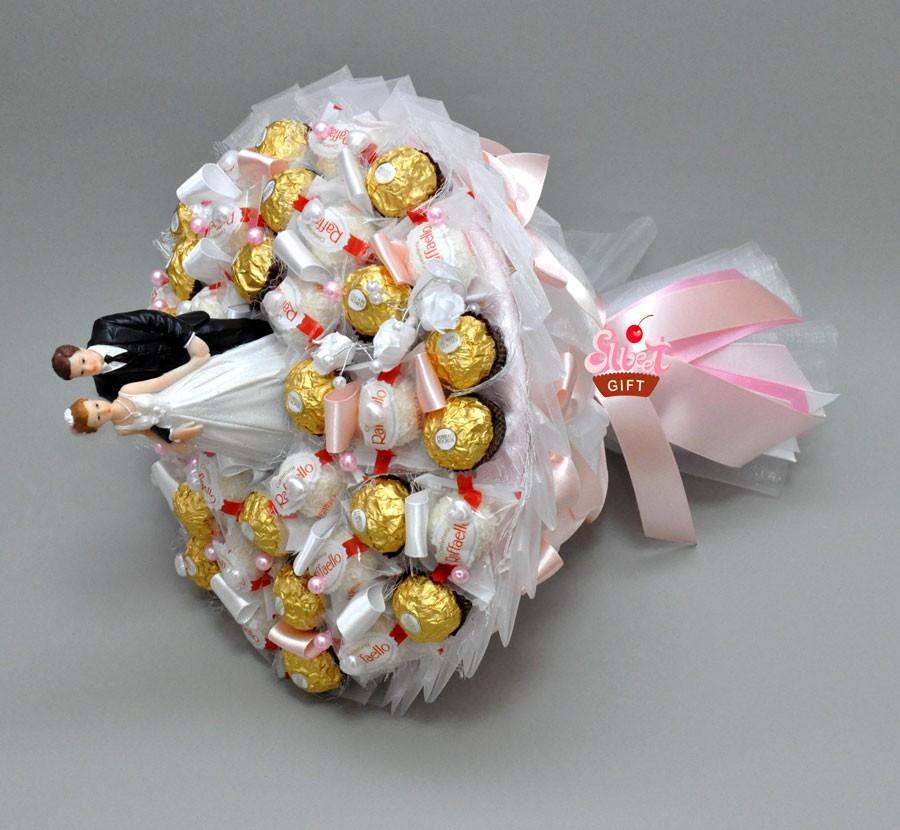 Букет из конфет Свадебный танец