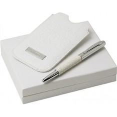 Набор (чехол для телефона, ручка перьевая)