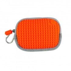 Светло-оранжевая пиксельная сумочка Pixel Cotton Pouch
