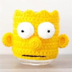Кружка в чехле Барт Симпсон