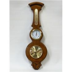 Интерьерная метеостанция барометр-часы-термометр