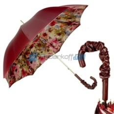 Зонт Трость Pasotti Bordo Pion Pelle
