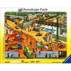Пазл На строительной площадке Ravensburger