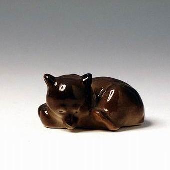 Анималистическая скульптура «Медвежонок»