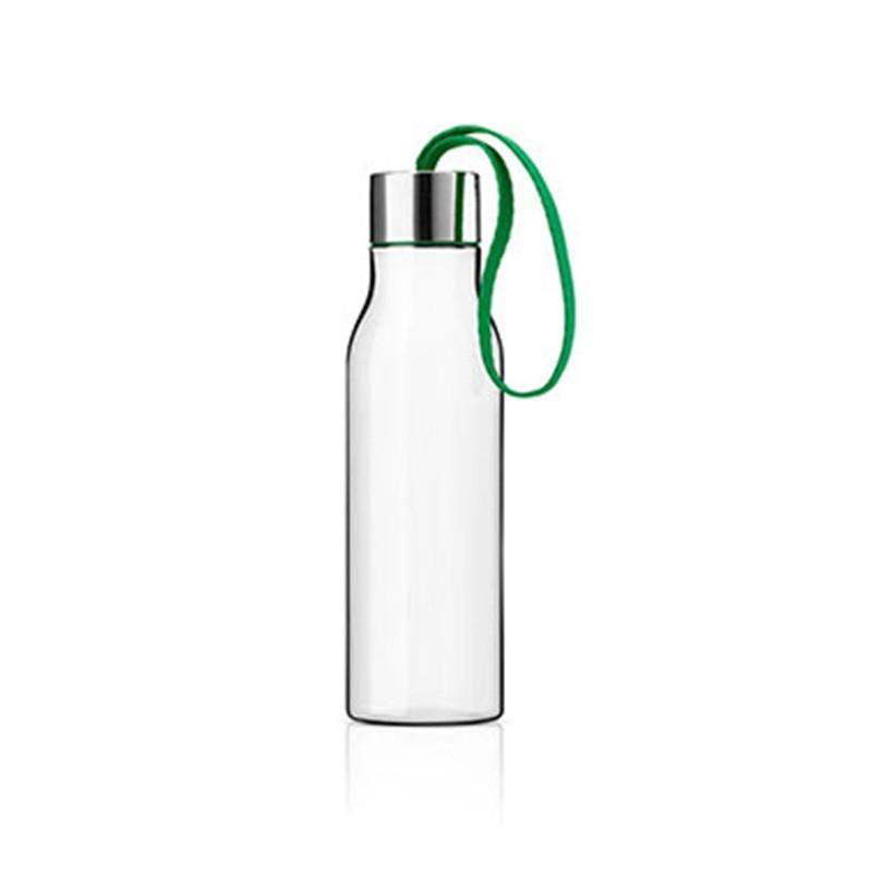 Ярко-зеленая бутылка для воды