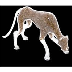 Хрустальная статуэтка Леопард