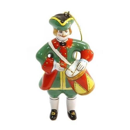 Ёлочная игрушка «Солдат с барабаном»