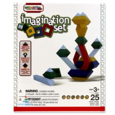 Конструктор Wedgit Imagination Set, 25 деталей