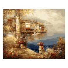Картины по номерам «Средиземноморский пейзаж»
