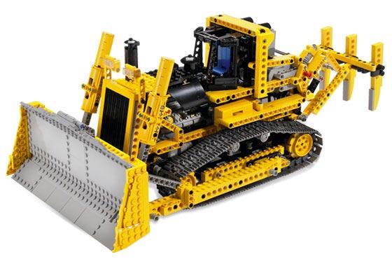 Набор Lego Technic Бульдозер с мотором