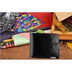 Мужское чёрное портмоне из коллекции Barkli