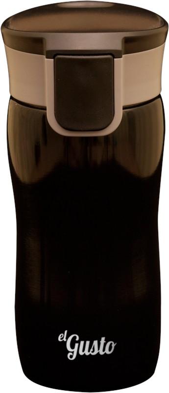Термокружка Corsa, черная, 350 мл