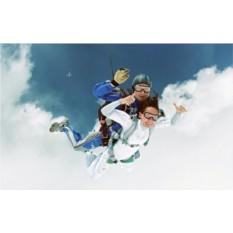 Прыжок с парашютом в тандеме для двоих