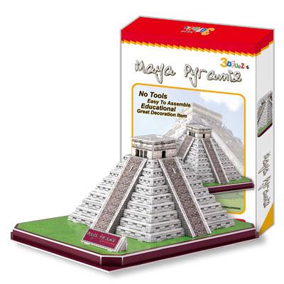 3D Пазл «Пирамида племени Майя в Мехико»