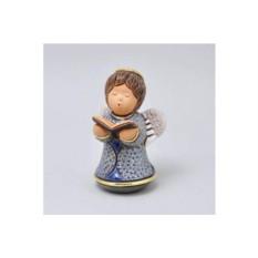 Керамическая статуэтка Ангелок с библией