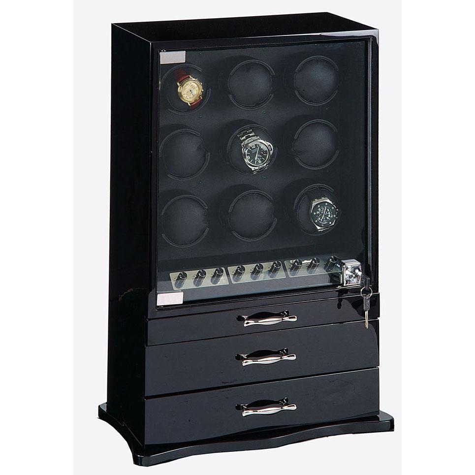 Шкатулка для часов с автоподзаводом Cabinet
