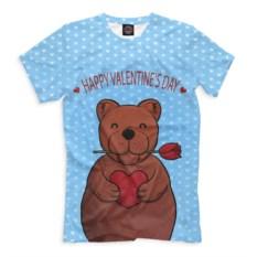 Футболка Медвежонок с сердечком