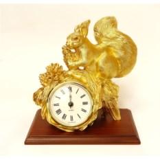 Настольные часы Белка